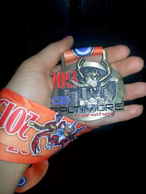2013-baltimore-marathon-medal