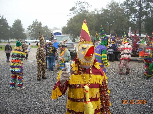 Courir de Mardi Gras Basile, LA