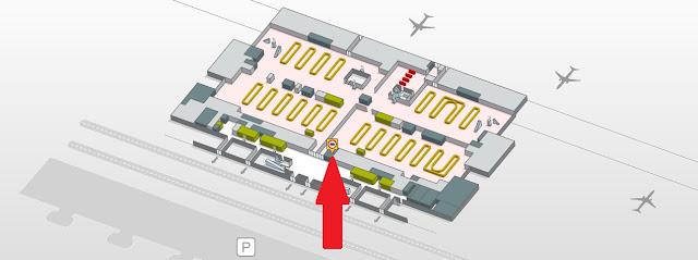 Terminal 4: uma aduana central