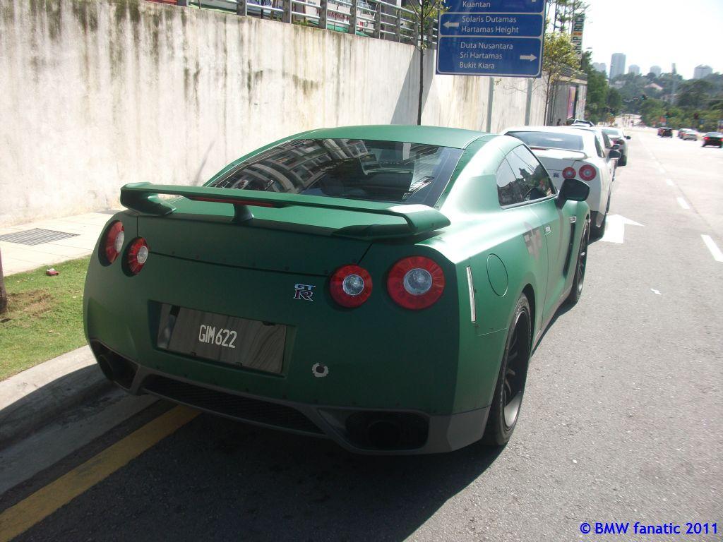Malaysia Supercar Malaysia Vip Army Themed Matte Green