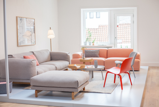 Muuto Rest Sofa : T.d.c: muuto in copenhagen