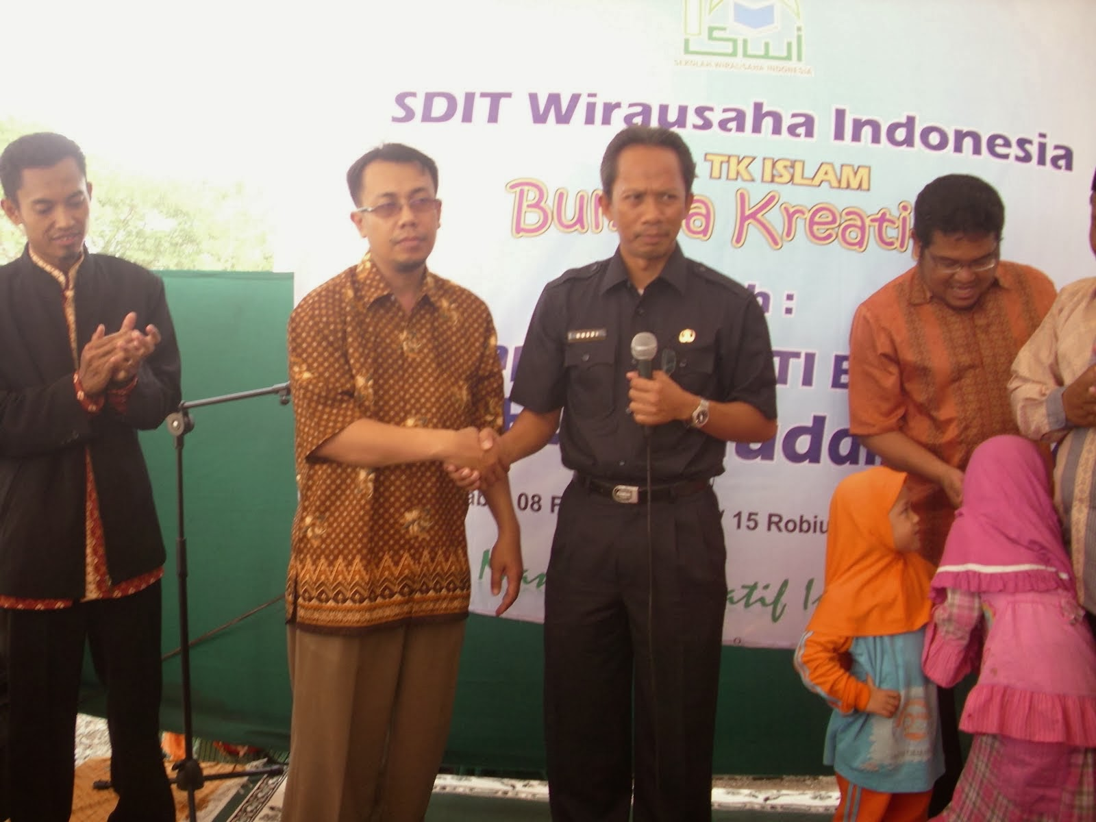Peresmian Sekolah Wirausaha Indonesia