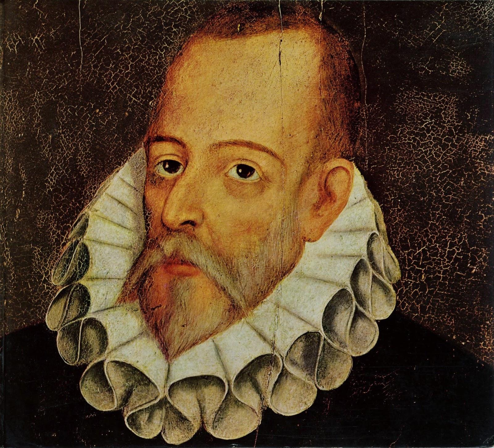 El famoso escritor español Cervantes