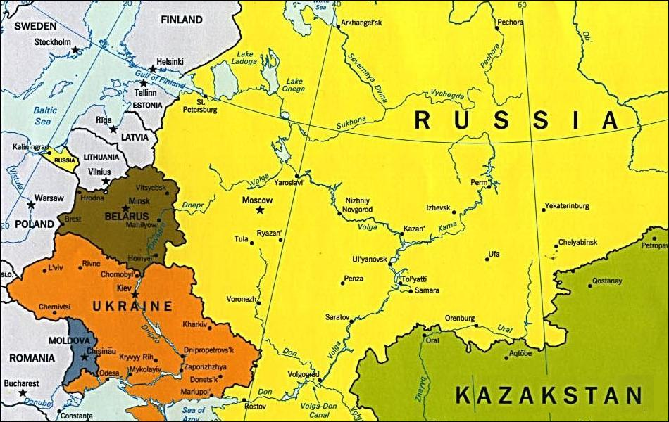 Is Ukraine Becoming Russias Th Territory - Where is kiev