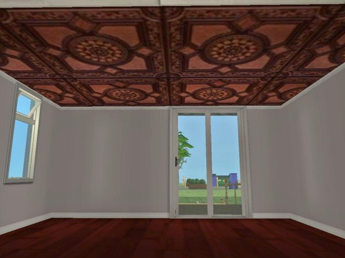 Ceiling tiles design
