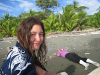Stranded on beach