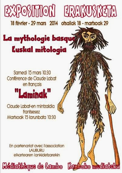 Exposition La mythologie basque à Cambo les bains
