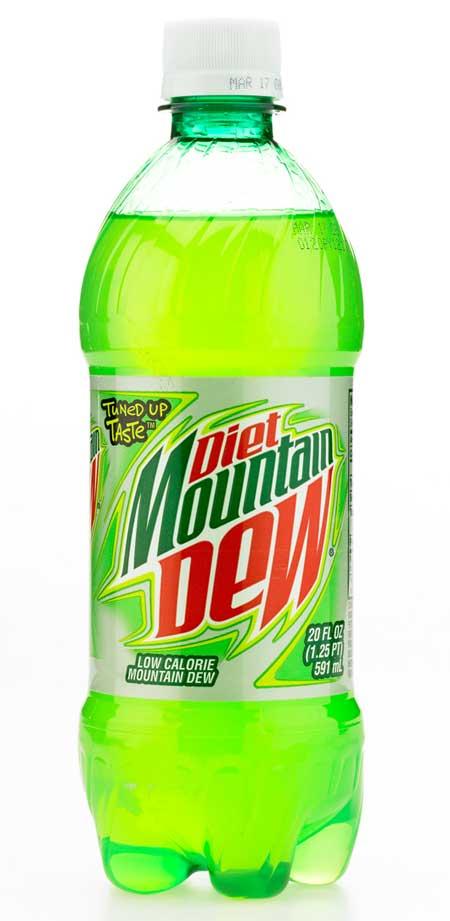 Diet Mountain Dew Epbot: just don't ' dew it!