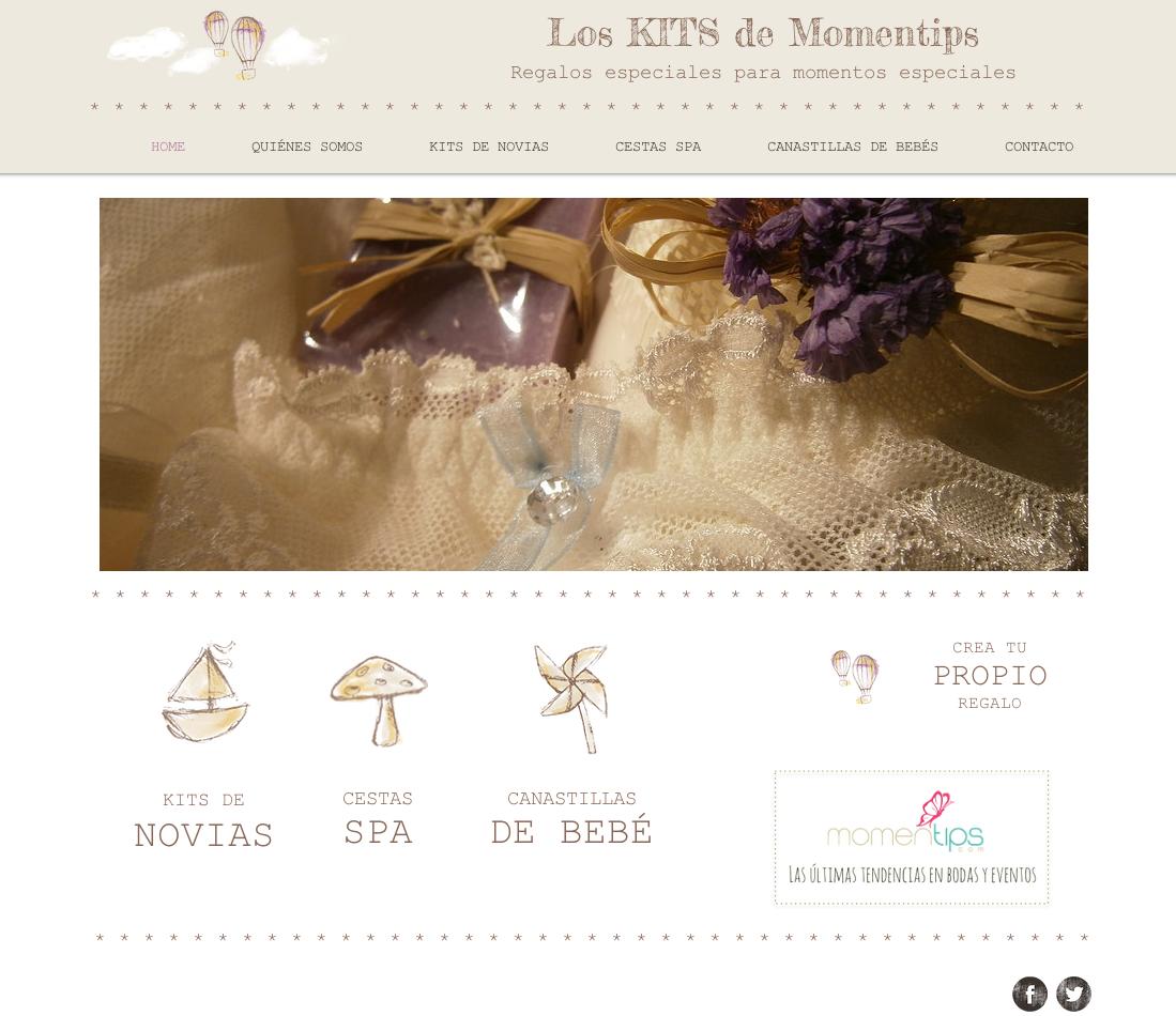 Home Los kits de Momentips