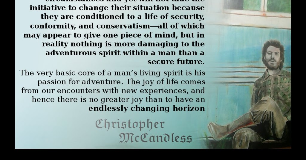 Chris Mccandless Quotes Mesmerizing Christopher McCandless Letter To Ron Franz Quote