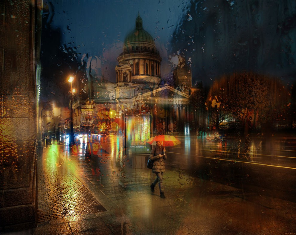 13-Eduard-Gordeev-Гордеев-Эдуард-Photographs-in-the-Rain-that-look-like-Oil-Paintings-www-designstack-co