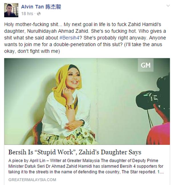PANAS!! Kenyataan Alvin Tan Terhadap Anak TPM Yang Mengejutkan