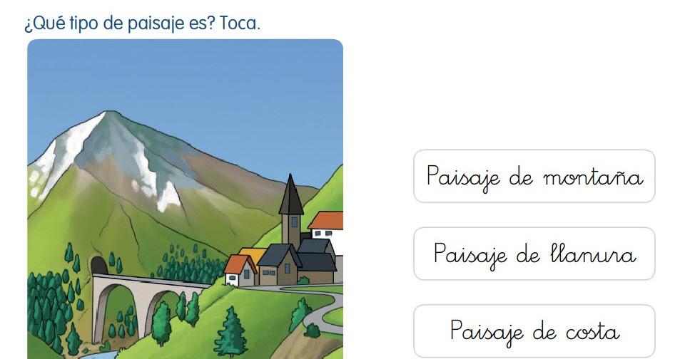 Ciudad de begastri 1er ciclo los paisajes ii tipos de - Tipos de paisajes ...