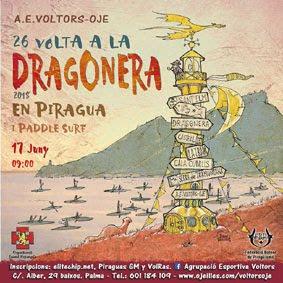 XXVI   26 Volta a Sa Dragonera en Piragua i Paddle Surf.      11 junio 2018