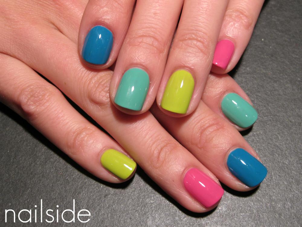 Nailside: Happy Skittle