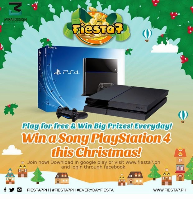 Fiesta7: WIN a SONY PLAYSTATION 4 this Christmas