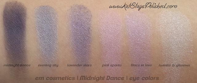 em michelle phan - The Life Palette- Party Life - Midnight Dance - eye