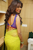 Manali rathod sizzling photos in saree-thumbnail-10