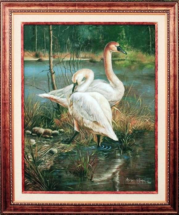 Lukisan Agus Sitompul