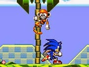 Sonic phiêu lưu, game sonic hay tại GameVui.biz