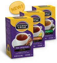 Two Great Chances to win with Oregon Chai!