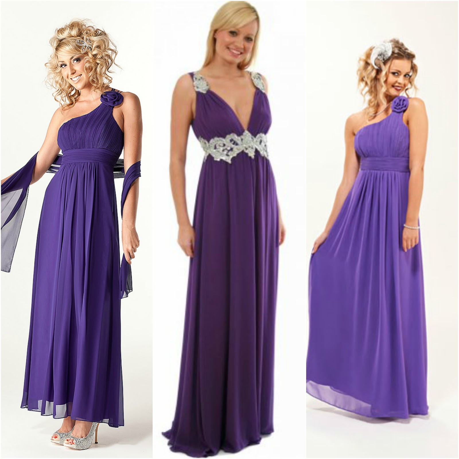 Cute Purple Bridesmaid Dresses Viewing Gallery