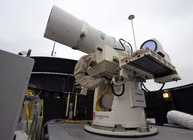 Primer cañón láser del mundo