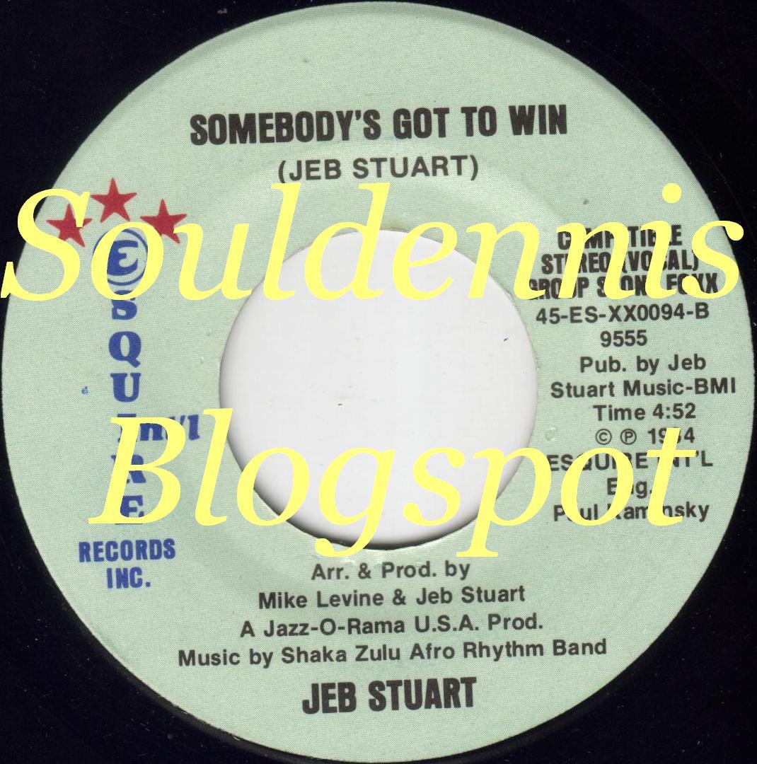 Jeb Stuart Hey Foxy Lady Whatcha Doin Tonight Somebodys Got To Win
