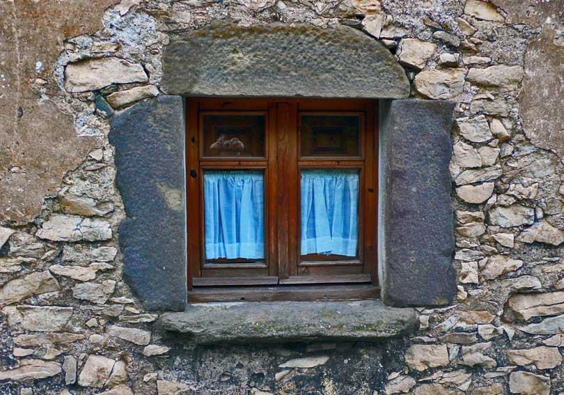 ventana window finestra blau azul blue
