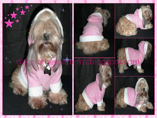 dog hoodie free patterns
