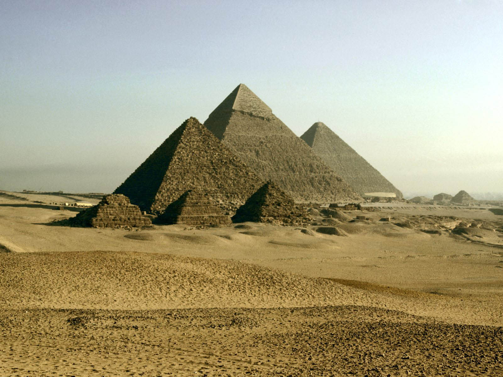 egyptian pyramids In ancient egypt, pyramids were built during the time of the old kingdom pyramids were tombs, royal tombs, where the ancient egyptians buried their kings.