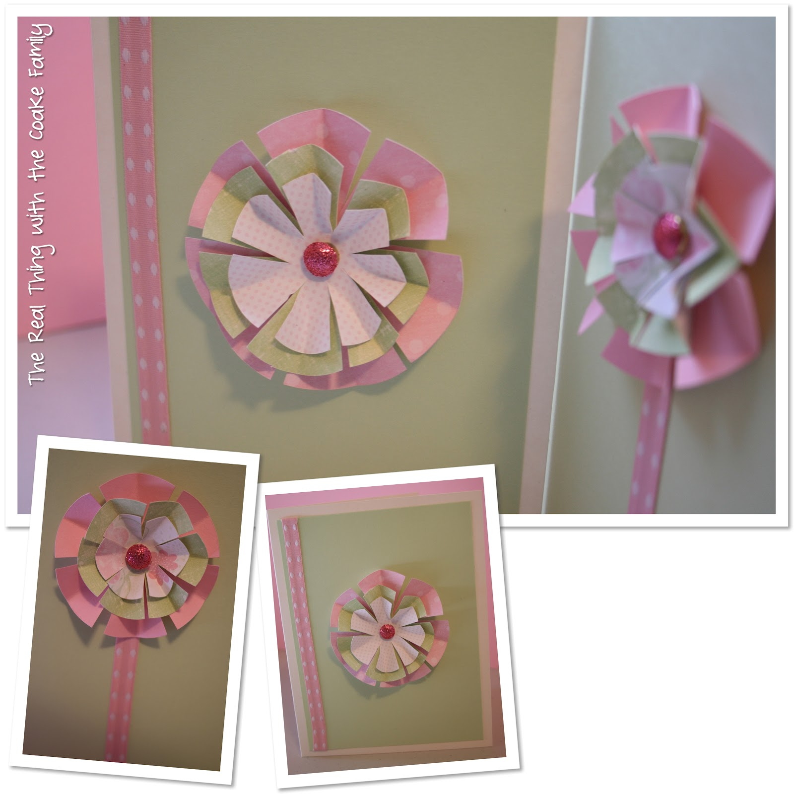 How To Mail Homemade Cards And More Paper Flower Cards The Real