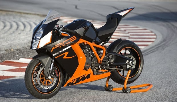 KTM RC8 R Black & Orange Bikes Images