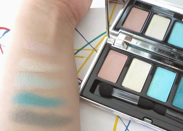 Lise Watier Palette Expression Eyeshadows