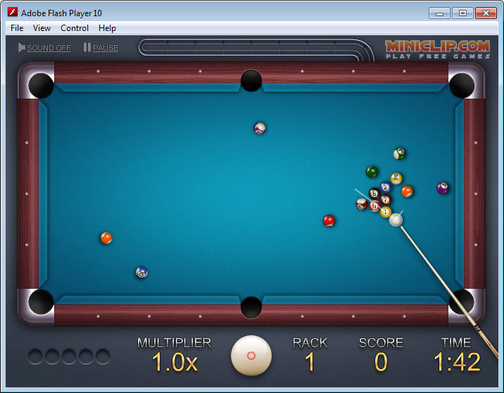 KeroKodiL: Miniclip - 8 ball quick fire pool versi Offline