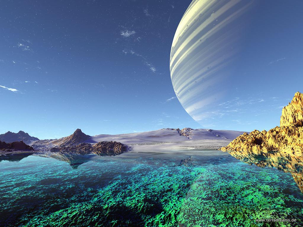 Extraterrestre paisaje