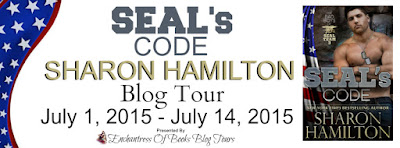 Guest Blog: SEAL's Code: Bad Boys of Team 3 by Sharon Hamilton