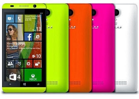 Ini dia Windows Phone Blu, Prestigio dan Yezz