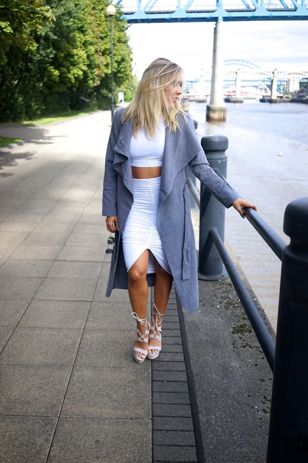 Missguided waterfall coat