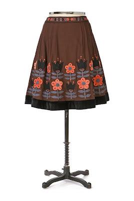 Anthropologie Backyard Garden Skirt