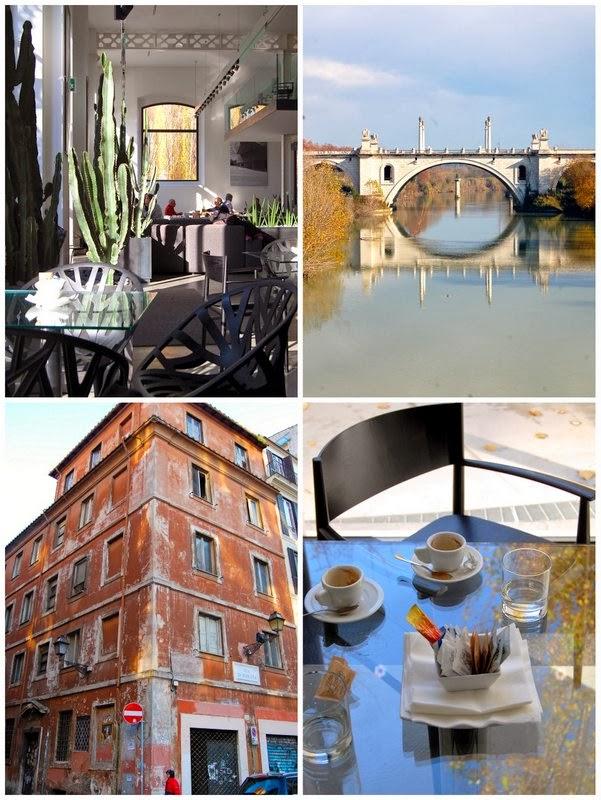 Fuga a roma tre giorni carini e curiosi tra cibo e design for Portico e design del ponte