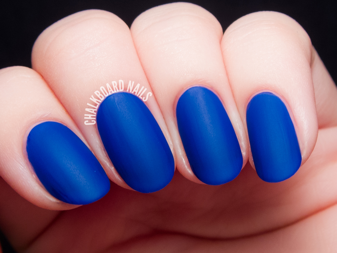 Cirque Colors NYFW (with matte topcoat) via @chalkboardnails