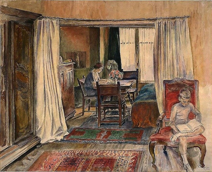 Jean Heibergh. From Studio Apartment in Rue Belloni, 1923