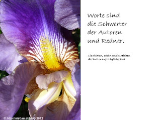 Schwertlilie © http://sistlau.at/blog 2012
