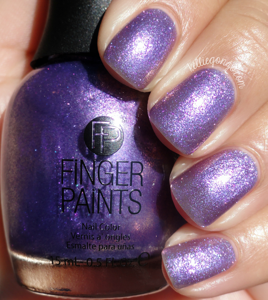 FingerPaints Paint the Town Purple