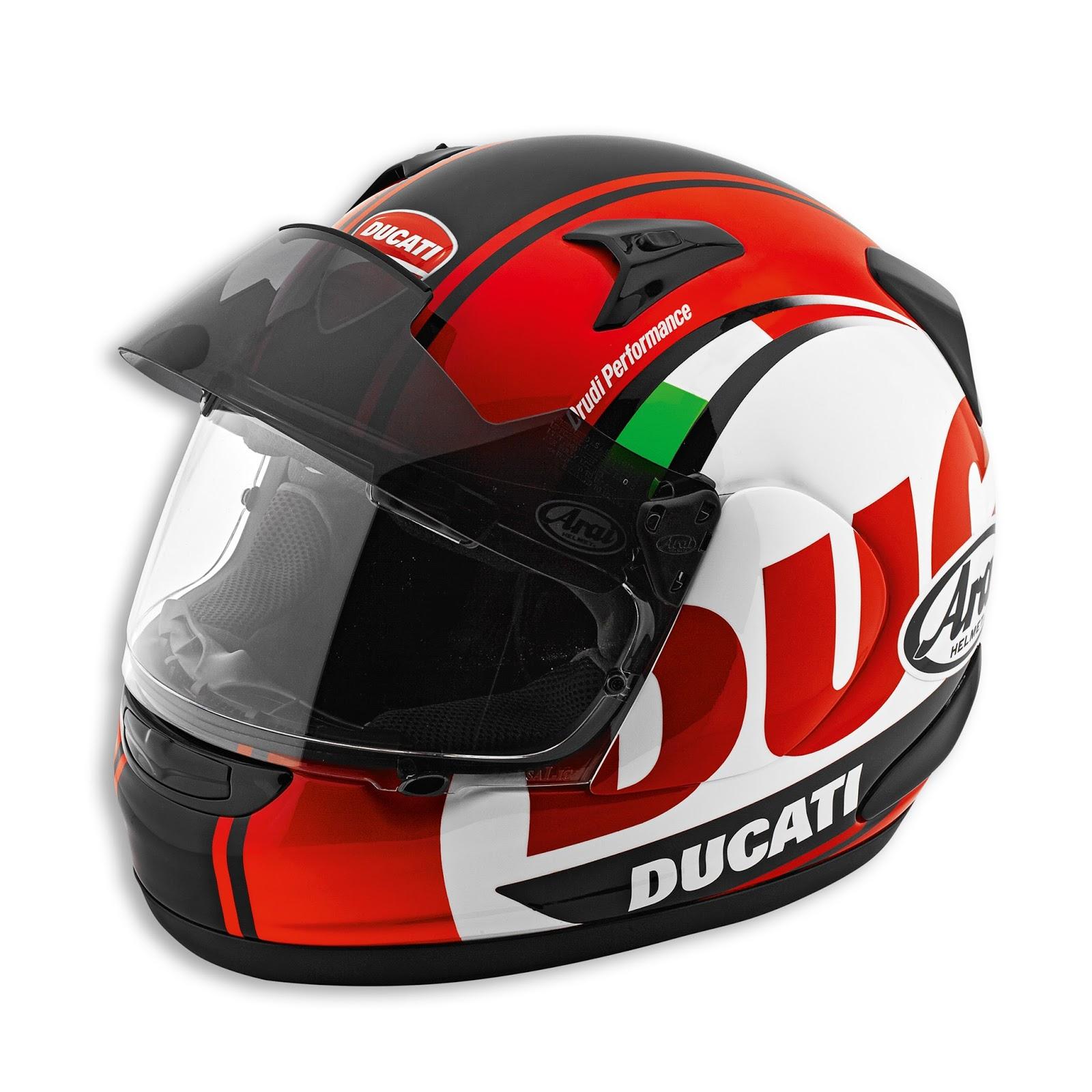 Racing Helmets Garage: Ducati Helmets by Arai 2016 - design by Drudi ...