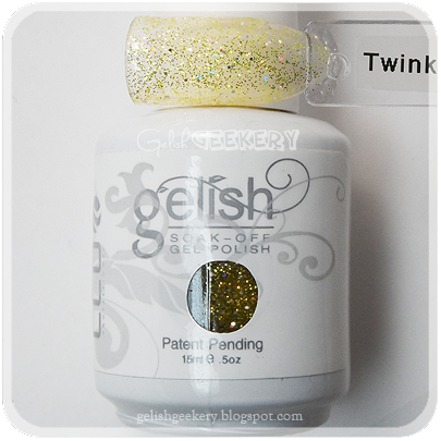 Gelish Swatch Twinkle