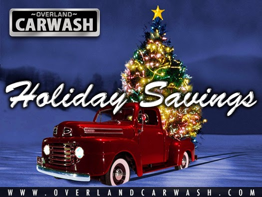 Holiday Car Wash Specials