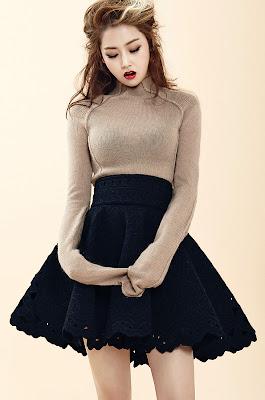 Gayoon 4minute 1st Look Magazine Vol. 51 September 2013