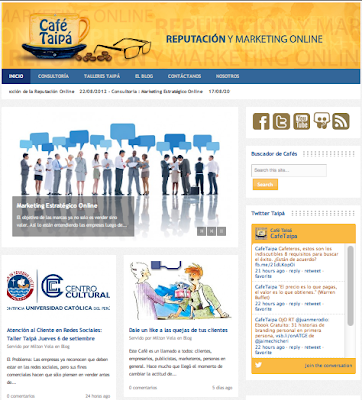 CAFÉ TAIPÁ | Reputación y Marketing Online